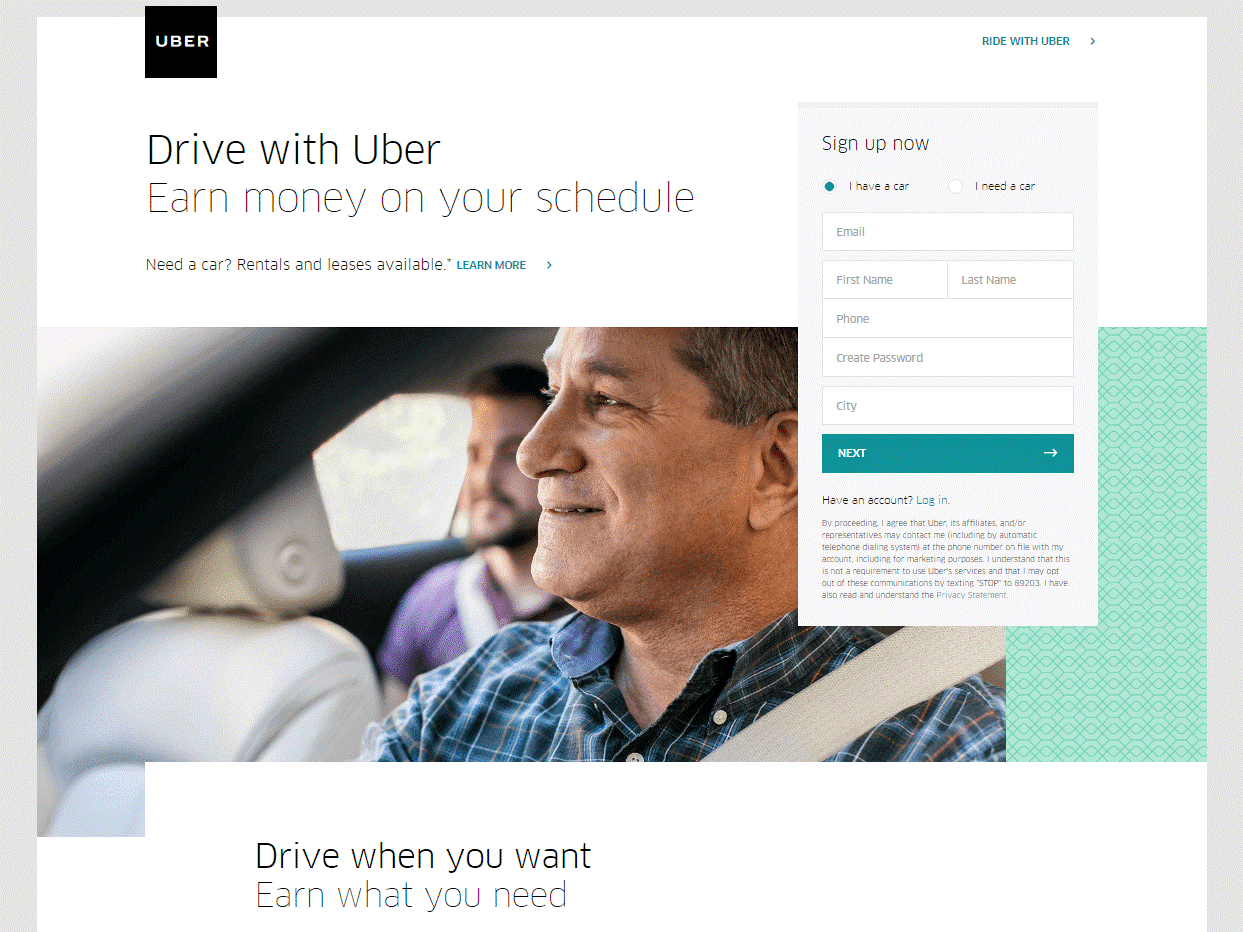 Gist drive with Uber