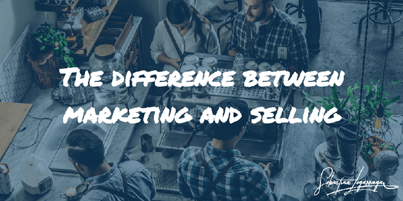 History of Selling Marketing Terminology